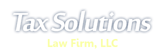 Tax Solutions | Law Firm LLC Logo
